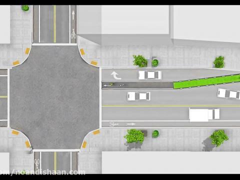 طراحی مسیر ویژه دوچرخه