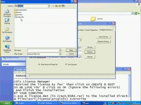 نصب و فعالسازی ArcGIS