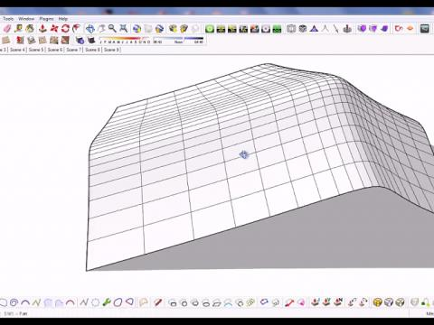 آموزش پلاگین Extrude Tools در اسکچاپ